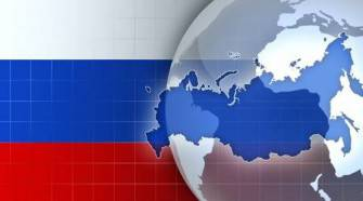 59645002-russia-map-and-flag-on-a-world-globe-news-background-illustration