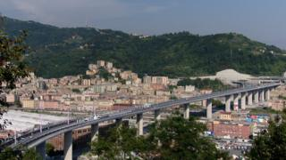 Bridge in Genoa